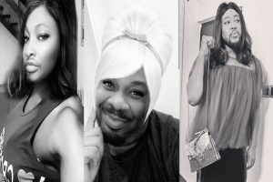 Don Jazzy And Other Male Celebs Impersonate Women As They Join The Challenge (PHOTOS)