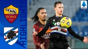 Roma vs Sampdoria 1 - 0 (Serie A Goals & Highlights)