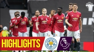 Manchester United vs Leicester City 1 - 2  (Premier  League Goals & Highlights 2021)