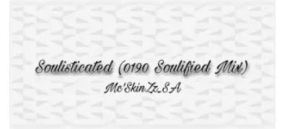 Mc'SkinZz_SA – Soulisticated (0190 Soulified Mix)