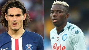 Osimhen Compared With Edison Cavani After Serie A Debut With Napoli