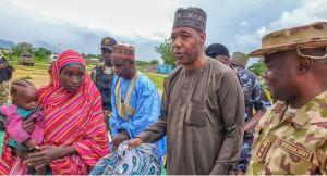 Nigerian Army Hands Over Another Chibok Schoolgirl To Zulum