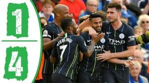 Brighton vs Manchester City 1 - 4 (Premier League 2021 Goals & Highlights)