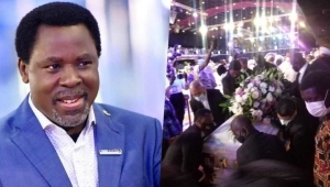 """""""There Is No Love In Christianity"""" – Prophet Reacts To Low Attendance Of Top Pastors At T.B. Joshua's Burial"""