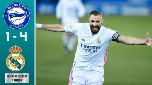 Alaves vs Real Madrid 1 - 4 (LA Liga Goals & Highlights 2021)