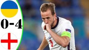 Ukraine vs England 0 - 4 (EURO 2020 Goals & Highlights)