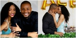 Actor, Alex Ekubo Gets Engaged To His Girlfriend, Fancy Acholonu (Photo)