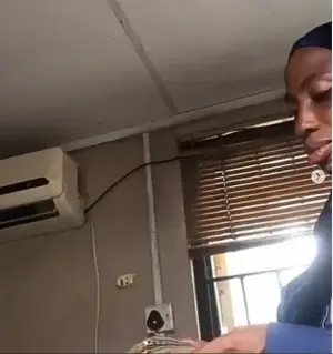 Man captures moment LASTMA officials were counting the money allegedly extorted from him and others in Lagos (video)