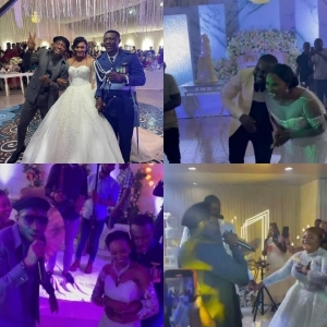 Singer Timi Dakolo crashes eight weddings in Abuja, gifts couple free performances (videos)