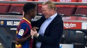 Barcelona president Laporta confirms Koeman for next season; insists finances not the issue