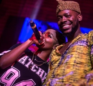 Adekunle Gold And Simi Enjoying Quality Time With Their Daughter (Watch Video)