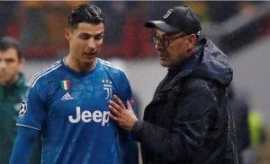 See What Sarri Said About Ronaldo After Juventus Lose Coppa Italia Final To Napoli