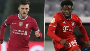 Robertson & Davies Ranked As World's Best Left-Backs