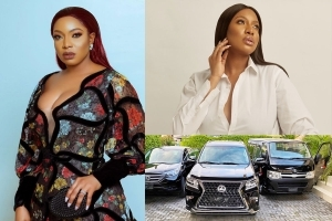 Actress Chika Ike Acquires New Cars As Official Cars For Flip Script Studios (PHOTOS)