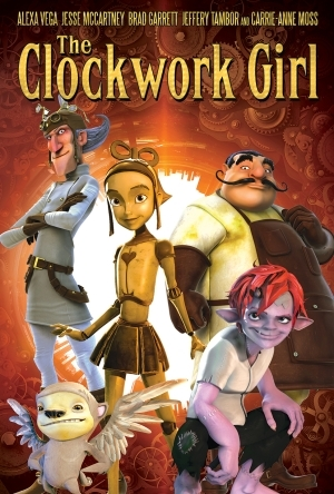 The Clockwork Girl (2021) (Animation)