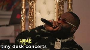 Rick Ross - Tiny Desk (Home) Concert (Video)