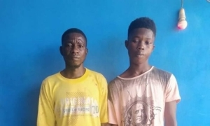 GOOD JOB!!! Ogun State Police Arrests 2 Suspected Kidnappers While Trying To Retrieve 1M Ransom Of Their Victim