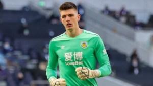 Burnley goalkeeper Nick Pope has knee surgery
