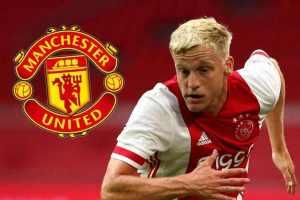 OFFICIAL: Manchester United Sign Donny Van De Beek From Ajax