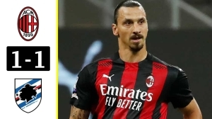 Milan vs Sampdoria 1 - 1 (Serie A Goals & Highlights 2021)
