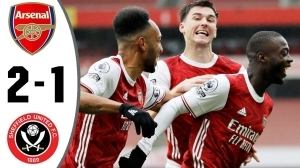 Arsenal vs Sheffield United 2 - 1 | EPL All Goals And Highlights (04-10-2020)