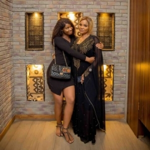 'You're everything special, you will be greater than me' – Iyabo Ojo's powerful for Priscy as she turns 19