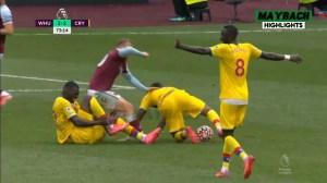 West Ham vs Crystal Palace 2 − 2 (Premier League  2021 Goals & Highlights)