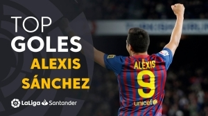 TOP 25 Goals by Alexis Sanchez in LaLiga (Highlights)