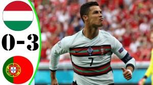 Hungary vs Portugal 0 − 3 (EURO 2020 Goals & Highlights)