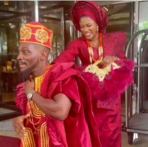 photos From Tobi Bakre's Wedding Ceremony