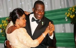 I'll choose you to be my husband over and over - Former first lady, Patience Jonathan tells her hubby, Goodluck Jonathan