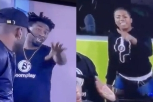 BBNaija: Angel, Boma Fight Dirty Days After Sharing a Kiss