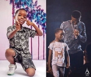 """My Father's Album Will Be The Best You Ever Heard"" – Wizkid's Son, Boluwatife"