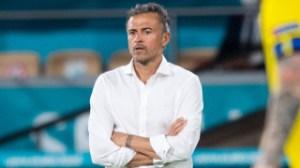 Spain coach Luis Enrique responds to middle finger incident