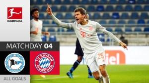 Arminia Bielefeld vs Bayern Munich 1 - 4   Bundesliga All Goals And Highlights (17-10-2020)