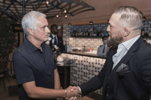 Inside Conor McGregor's Rome trip from meeting Jose Mourinho to shots with Johnny Depp