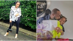 Reality star, Gifty Snubs The Fathers Of Her Kids, Celebrates Davido On Father's Day