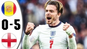 Andorra vs England 0 - 5 (2022 World Cup Qualifiers Goals & Highlights)