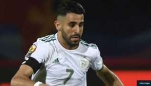 Manchester City Star Mahrez Fires Algeria To AFCON 2022