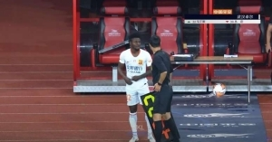 Obafemi Martins With His New Side