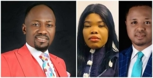 Mike David Apologizes To Apostle Suleman Over Accusations Of Sleeping With His Wife (Video)