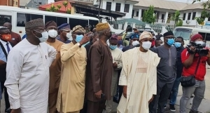 JUST IN!!! Southern Governors Meet In Lagos Today