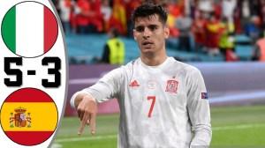 ltaIy vs Spain 1 - 1 (Pen 4-2) (EURO  2020 Goals & Highlights)