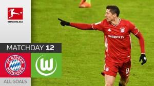 Bayern Munich vs Wolfsburg 2 - 1 (Bundesliga Goals & Highlights)
