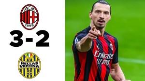 AC Milan vs Hellas Verona 3 - 2 (Serie A   2021 Goals & Highlights)