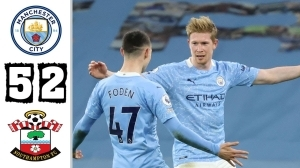 Manchester City vs Southampton 5 - 2 (EPL Goals & Highlights 2021)