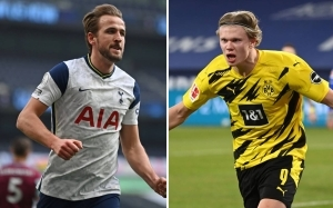 Pundit incredibly claims that both Haaland and Kane will end up in Manchester this summer