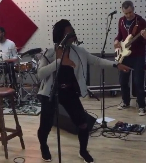 Asa Shows Off Her Shoki Moves in Slow Motion