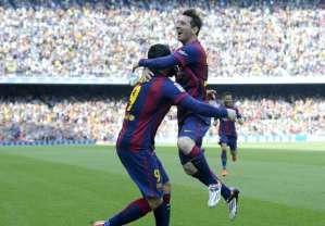 Barcelona 2-0 Valencia (Primera División) Highlight