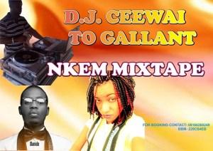 DJ Ceewai - Nkem Mixtape
